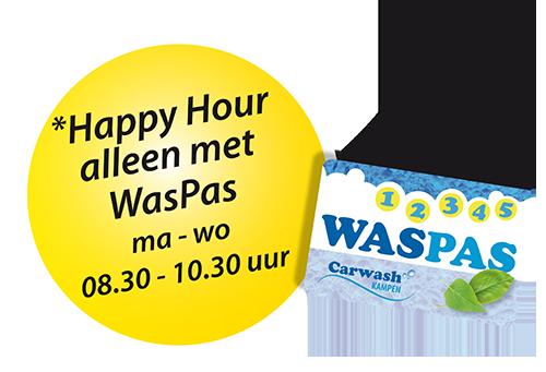 Alleen happy hour met de waspas