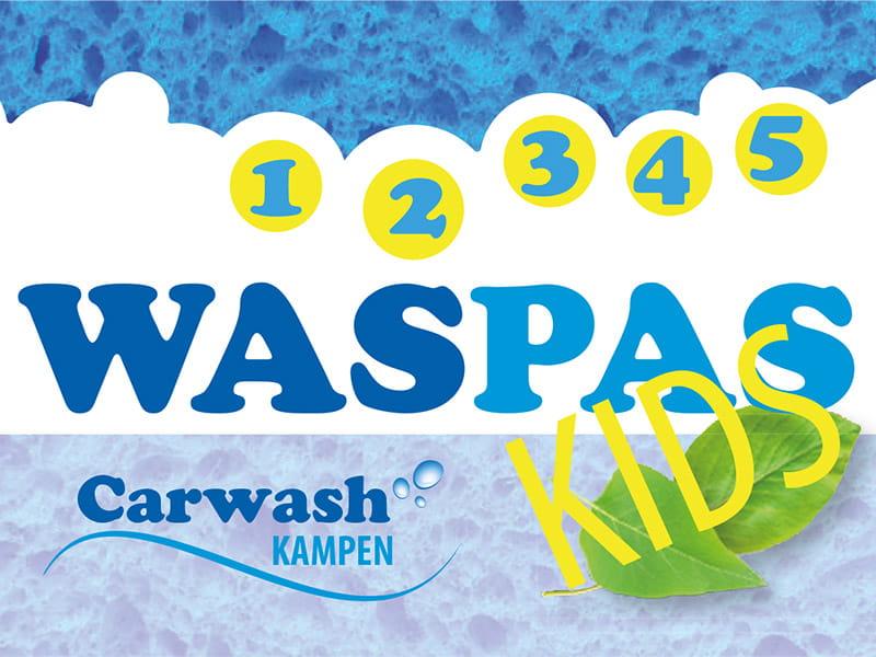 Kids waspas bij Carwash Kampen