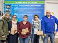 Carwash Kampen deelt prijzen uit