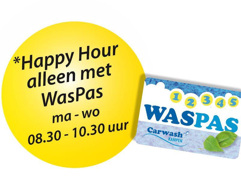 Happy hour actie Carwash Kampen
