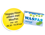 waspas met happy hour button